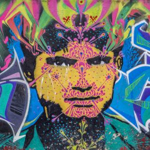 Bogota – street art na wysokościach